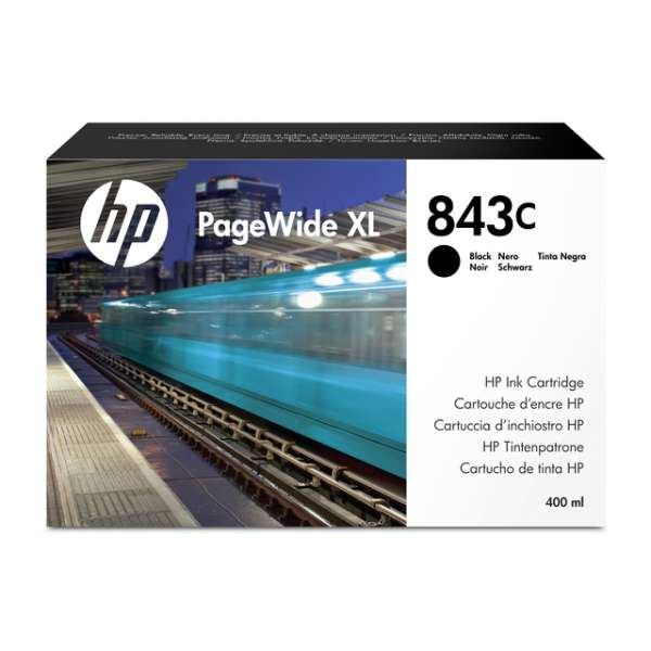 HP No. 843C Ink Cartridge Black - 400ml