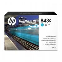 HP No. 843C Ink Cartridge Cyan - 400ml