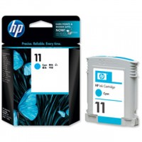 HP No. 11 Ink Cartridge Cyan - 28ml
