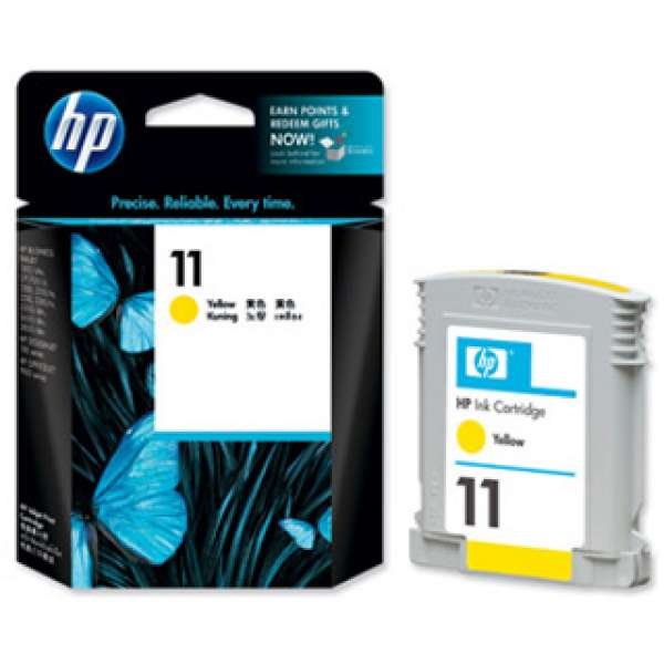 HP No. 11 Ink Cartridge Yellow - 28ml