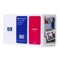 HP No. 80 Ink Cartridge Magenta - 175ml