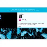 HP No. 81 Dye Ink Cartridge Magenta - 680ml