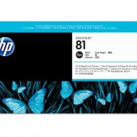 HP No. 81 Dye Ink Printhead and Cleaner - Black