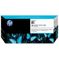 HP No. 81 Dye Ink Printhead and Cleaner-Light Magenta