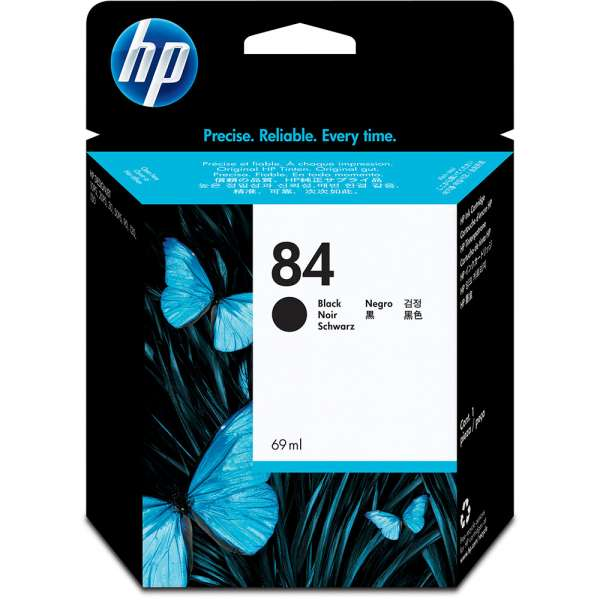 HP No. 84 Ink Cartridge Black - 69ml