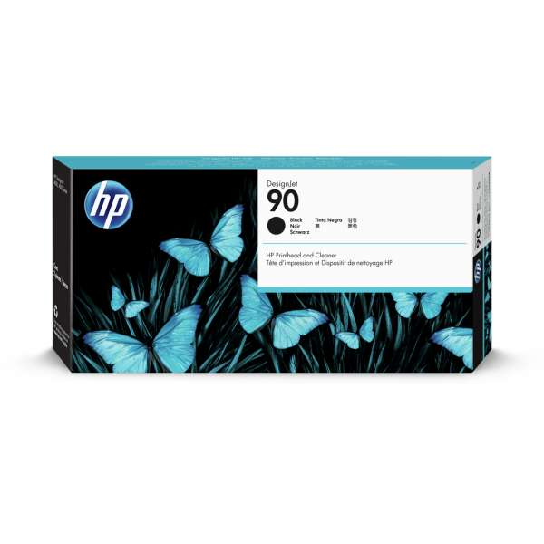 HP No. 90 Ink Printhead and Cleaner - Black
