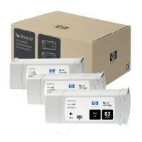 HP No. 83 UV Triple pack - Black
