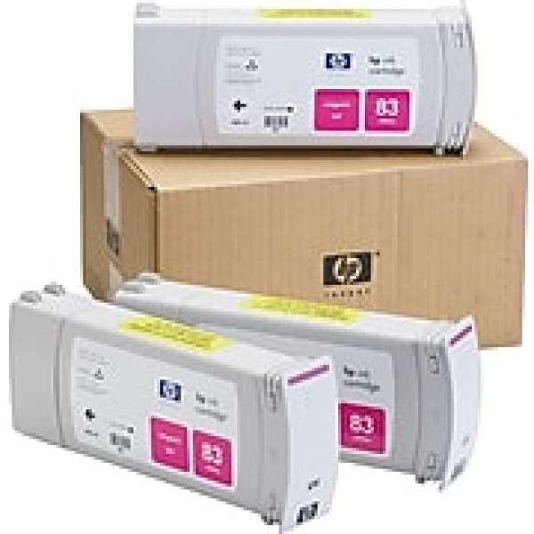 HP No. 83 UV Triple pack - Magenta