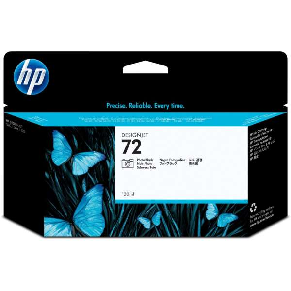 HP No. 72 Ink Cartridge Photo Black - 130ml