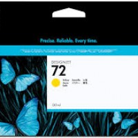 HP No. 72 Ink Cartridge Yellow - 130ml