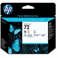 HP No. 72 Ink Printhead - Grey & Photo Black