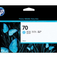 HP No. 70 Ink Cartridge Light Cyan - 130ml