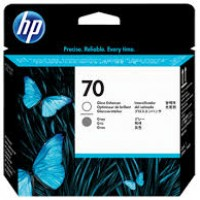 HP No. 70 Ink Printhead - Gloss Enhancer & Grey