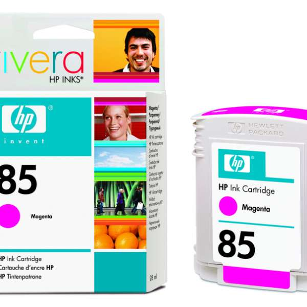 HP No. 85 Ink Cartridge Magenta - 28ml