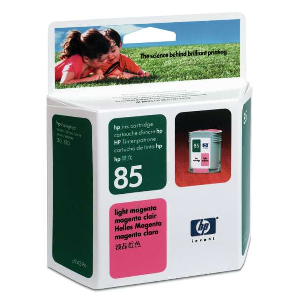 HP No. 85 Ink Cartridge Light Magenta - 69ml
