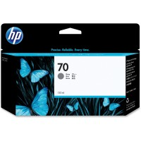 HP No. 70 Ink Cartridge Grey - 130ml