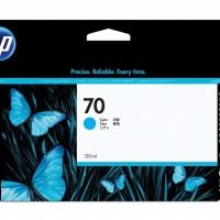 HP No. 70 Ink Cartridge Cyan - 130ml