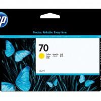 HP No. 70 Ink Cartridge Yellow - 130ml