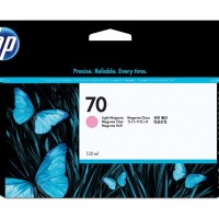 HP No. 70 Ink Cartridge Light Magenta - 130ml