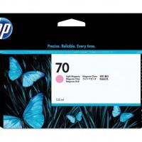 HP No. 70 Ink Cartridge Light Magenta - 130ml