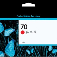 HP No. 70 Ink Cartridge Red - 130ml