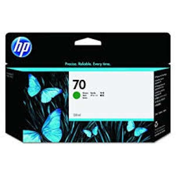 HP No. 70 Ink Cartridge Green - 130ml