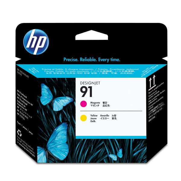 HP Magenta & Yellow Printhead