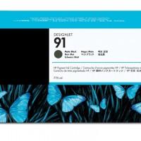 HP No. 91 Matte Black Ink Cartridge 775ml