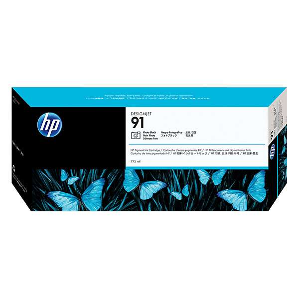 HP No. 91 Photo Black Ink Cartridge 775ml