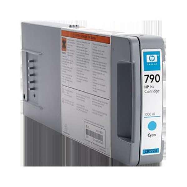HP No. 790 Cyan Ink Cartridge - 1000ml