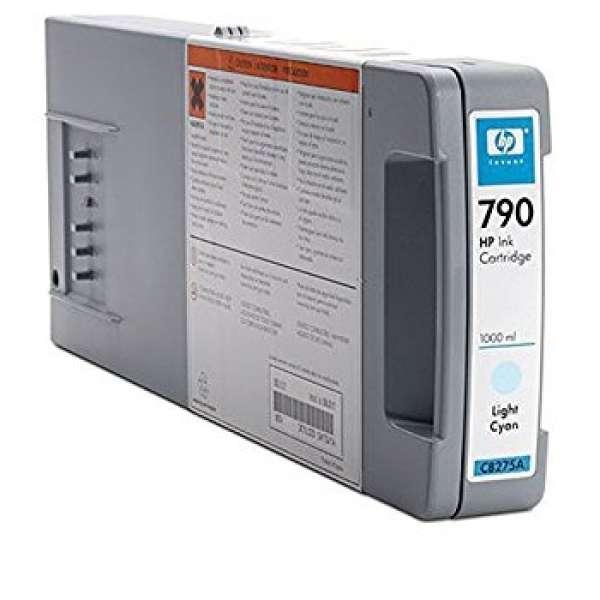 HP No. 790 Light Cyan Ink Cartridge - 1000ml