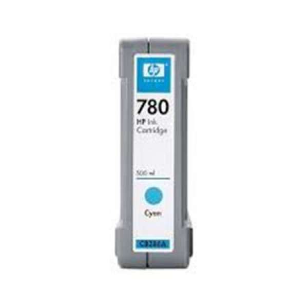 HP No. 780 Cyan Ink Cartridge - 500ml