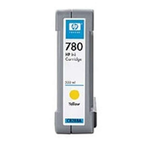 HP No. 780 Yellow Ink Cartridge - 500ml