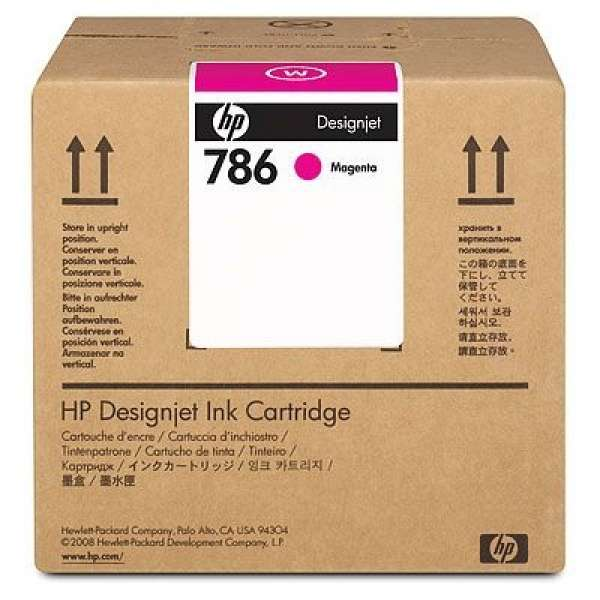 HP No. 786 Latex Ink Cartridge 3000ml Magenta