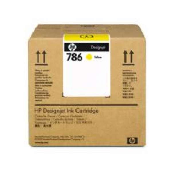 HP No. 786 Latex Ink Cartridge 3000ml Yellow