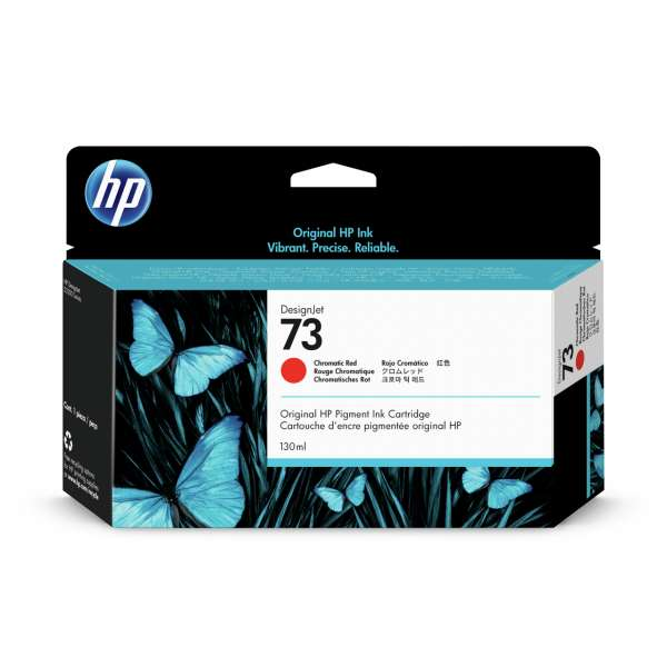 HP No. 73 Cartridge Chromatic Red - 130ml