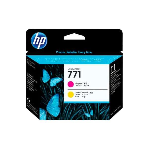 HP No. 771 Ink Printhead - Magenta & Yellow