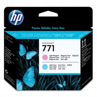 HP No. 771 Ink Printhead - Light Magenta & Light Cyan