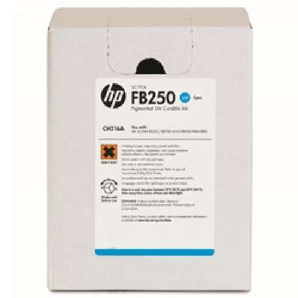 HP No. 788 1-liter Cyan Ink