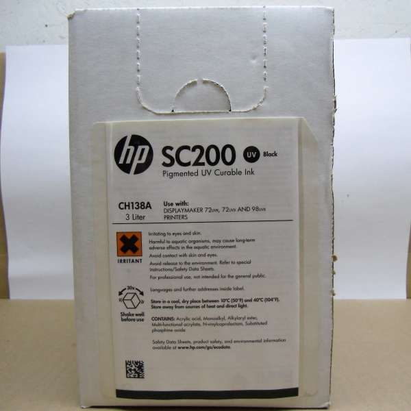 HP SC200 3-liter Black Ink