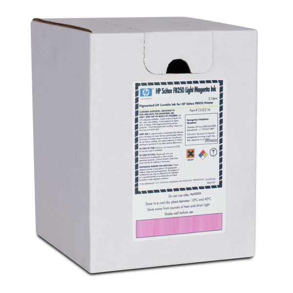 HP FB250 UV Curable Ink Light Magenta 3000ml
