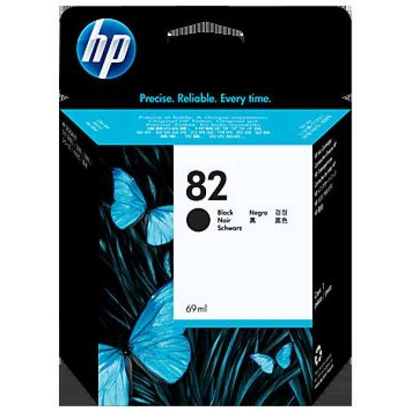 HP #82 Black Ink Cartridge for HP510