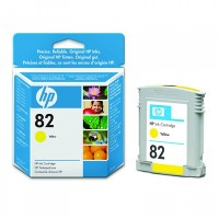 HP No. 82 Dye Ink Cartridge Yellow for HP510