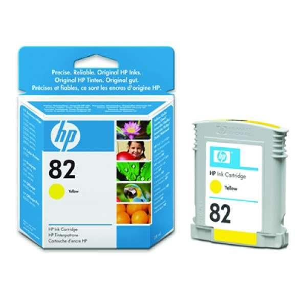 HP No. 82 Dye Ink Cartridge Yellow for HP510