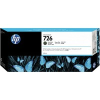 HP No. 726 Ink Cartridge Matte Black - 300ml for T1200 only