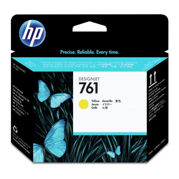 HP No. 761 Ink Printhead - Yellow