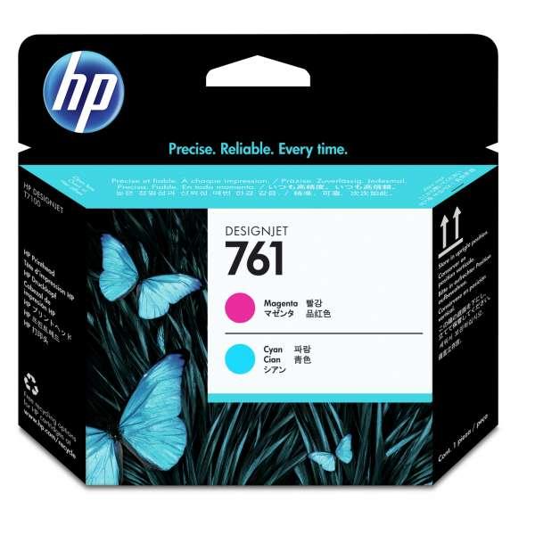 HP No. 761 Ink Printhead - Magenta & Cyan