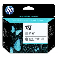 HP No. 761 Ink Printhead - Grey and Dark Grey