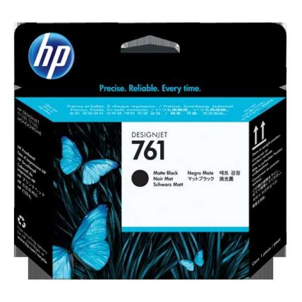 HP No. 761 Ink Printhead - Matte Black & Matte Black