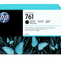 HP No. 761 Ink Cartridge - Matte Black - 400ml